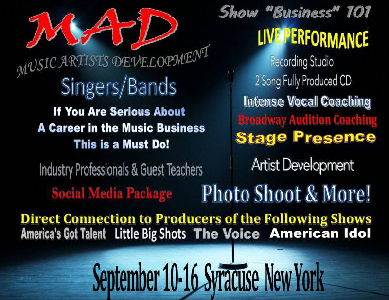 M.A.D. - Music Artist Development